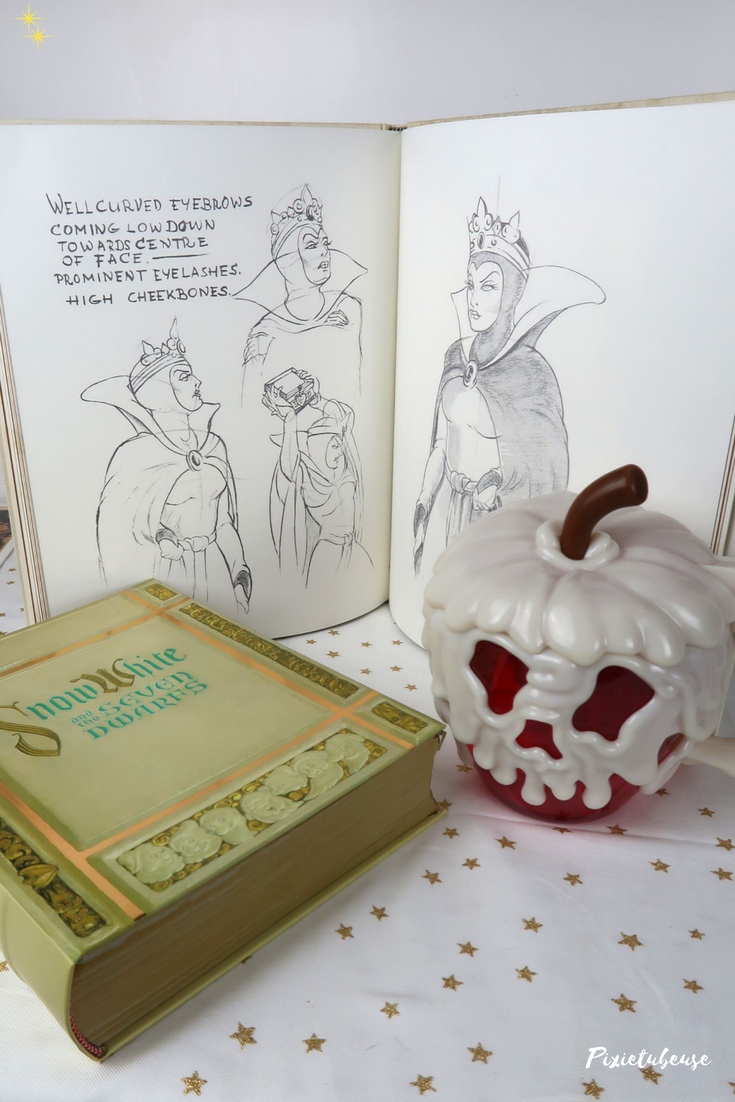 Sketchbook disney blanche neige et les sept nains review for Miroir youtubeuse