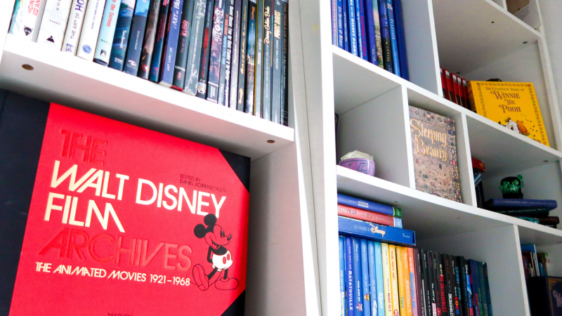 Mes livres Disney – La liste complète !
