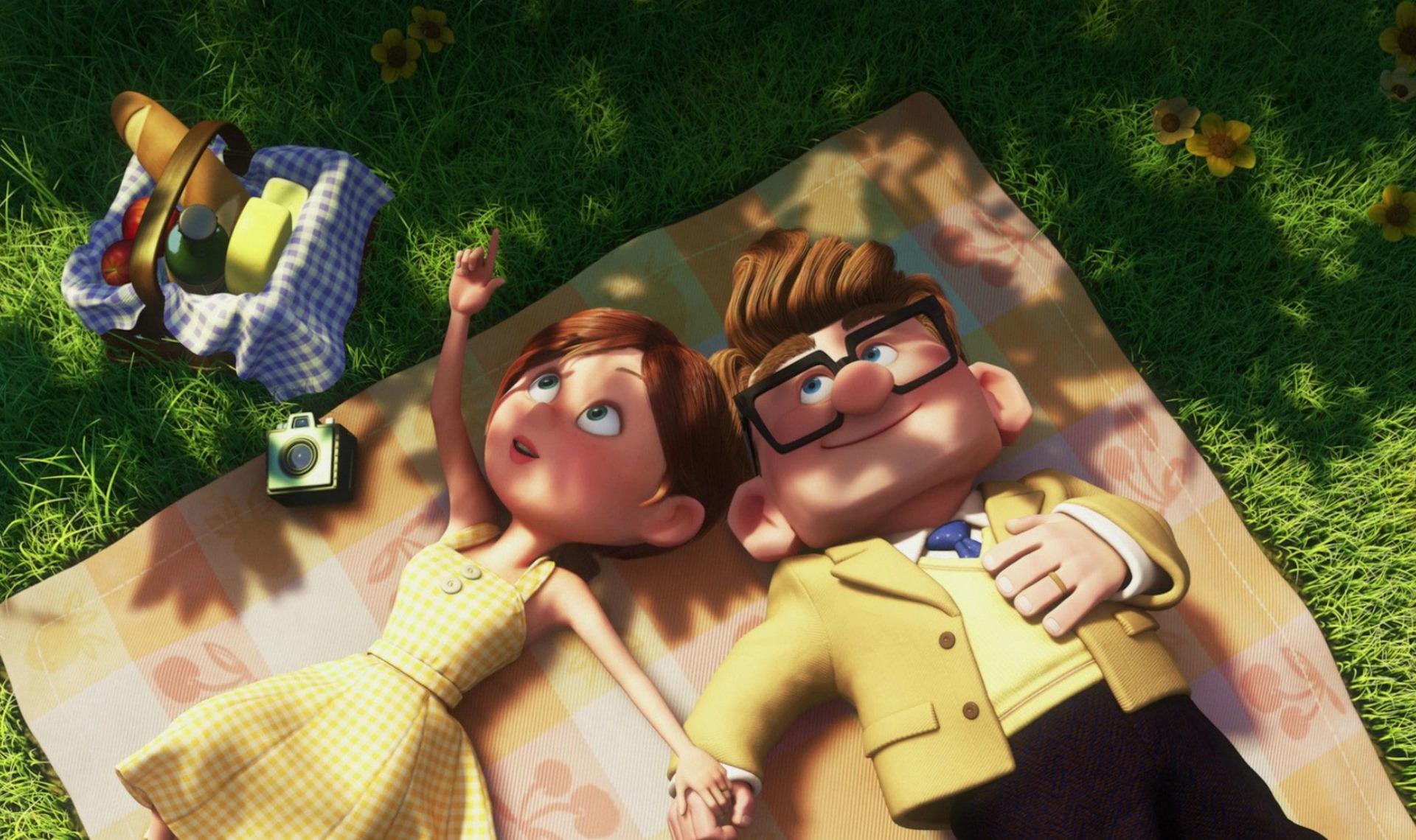 Quels sont mes 5 couples Pixar préférés ?