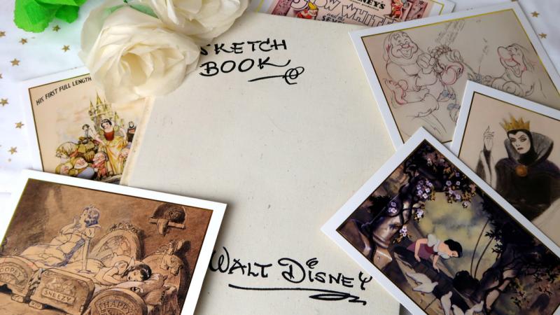Mon premier Sketchbook Disney, Blanche-Neige et les Sept Nains