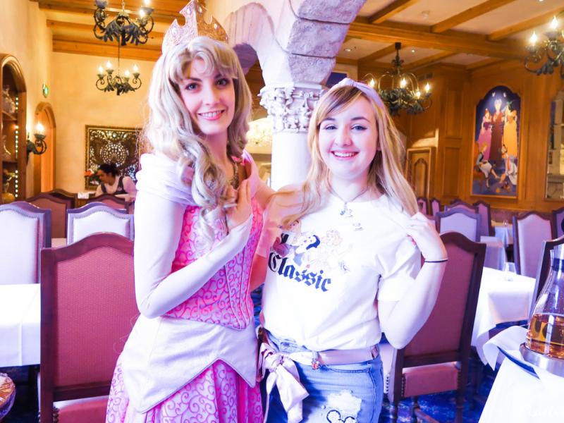 L'Auberge de Cendrillon : Un petit-déjeuner royal à Disneyland Paris